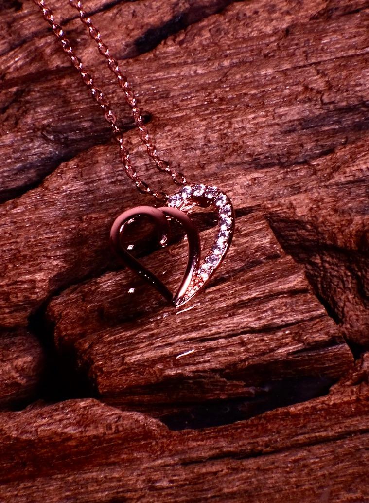 Halskette  Piccola Rosegold